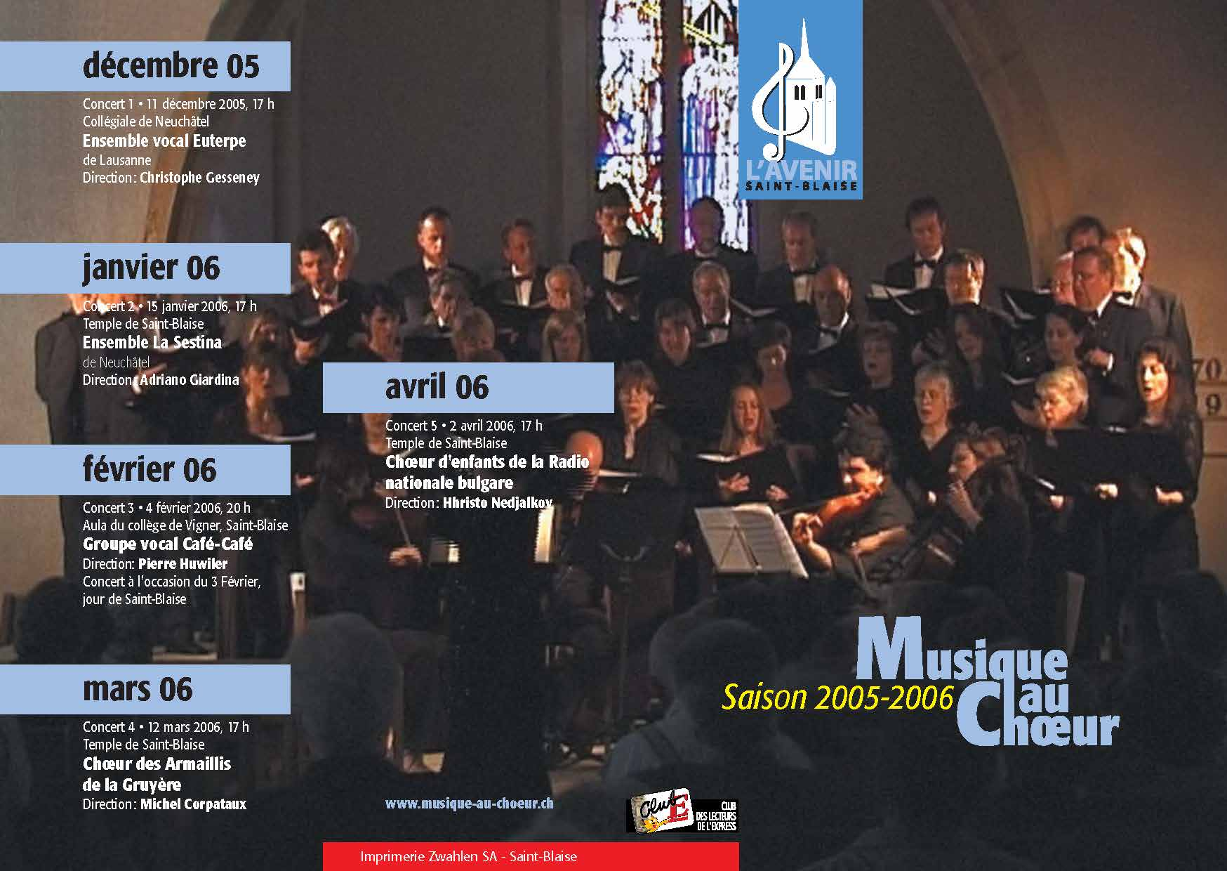 Couverture programme 2005_2006