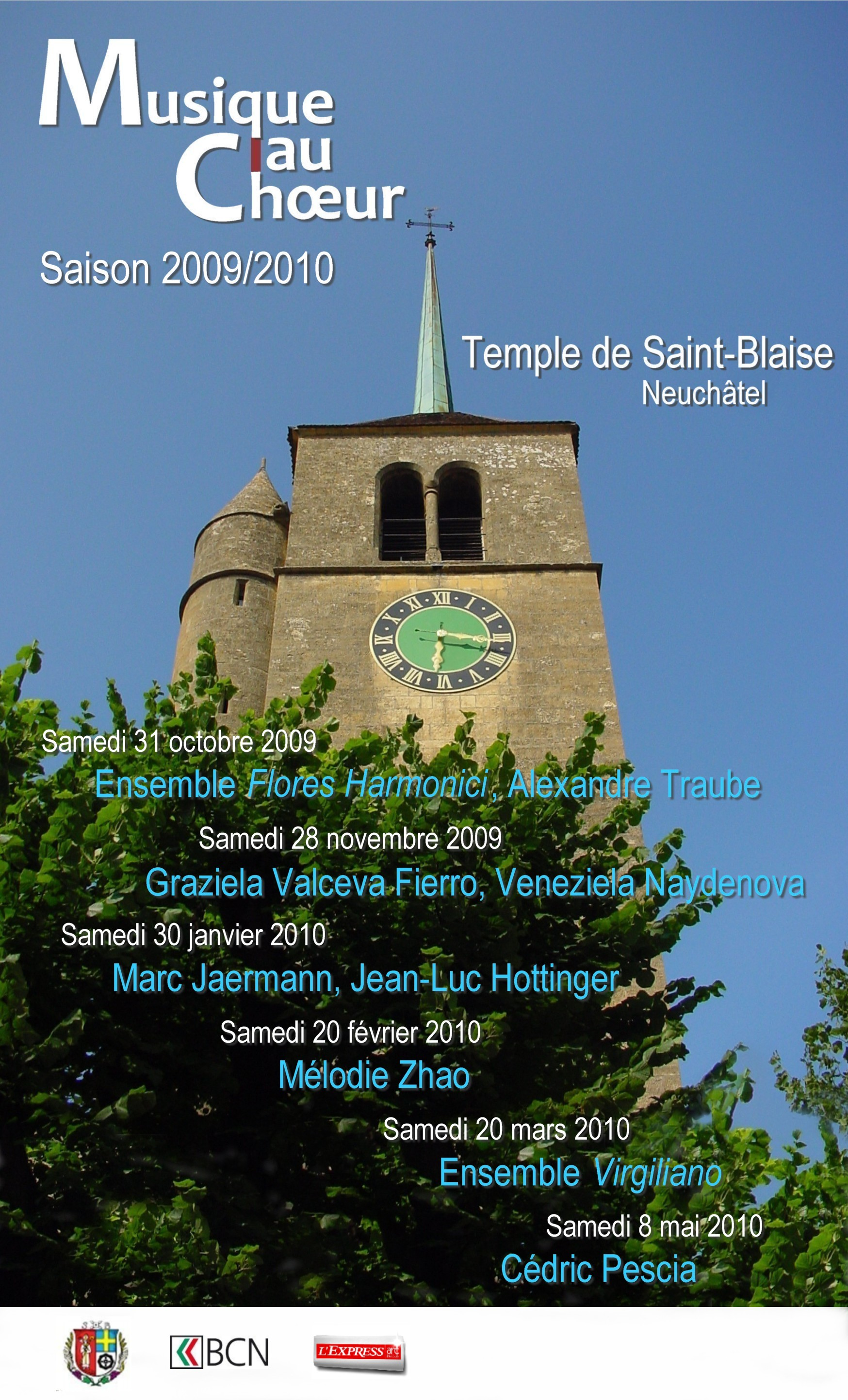 Couverture programme 2010
