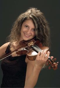 Aurélie Matthey, violoniste